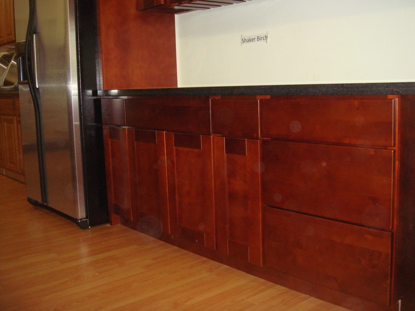 Cherry Shaker Kitchen Cabinets brilliant cherry shaker cabinet doors solid wood kitchen unit to