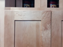 Natural American Maple Shaker Kitchen Cabinets Photo Album gallery image