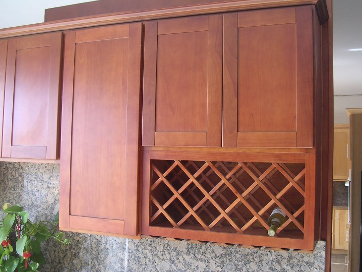 Natural Cherry Kitchen Cabinets natural cherry shaker kitchen cabinets photo album