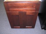 Java Coffee Maple Shaker Kitchen Cabinets Photo Album gallery image