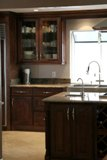 Choclate Maple Glaze Kitchen Cabinets gallery image