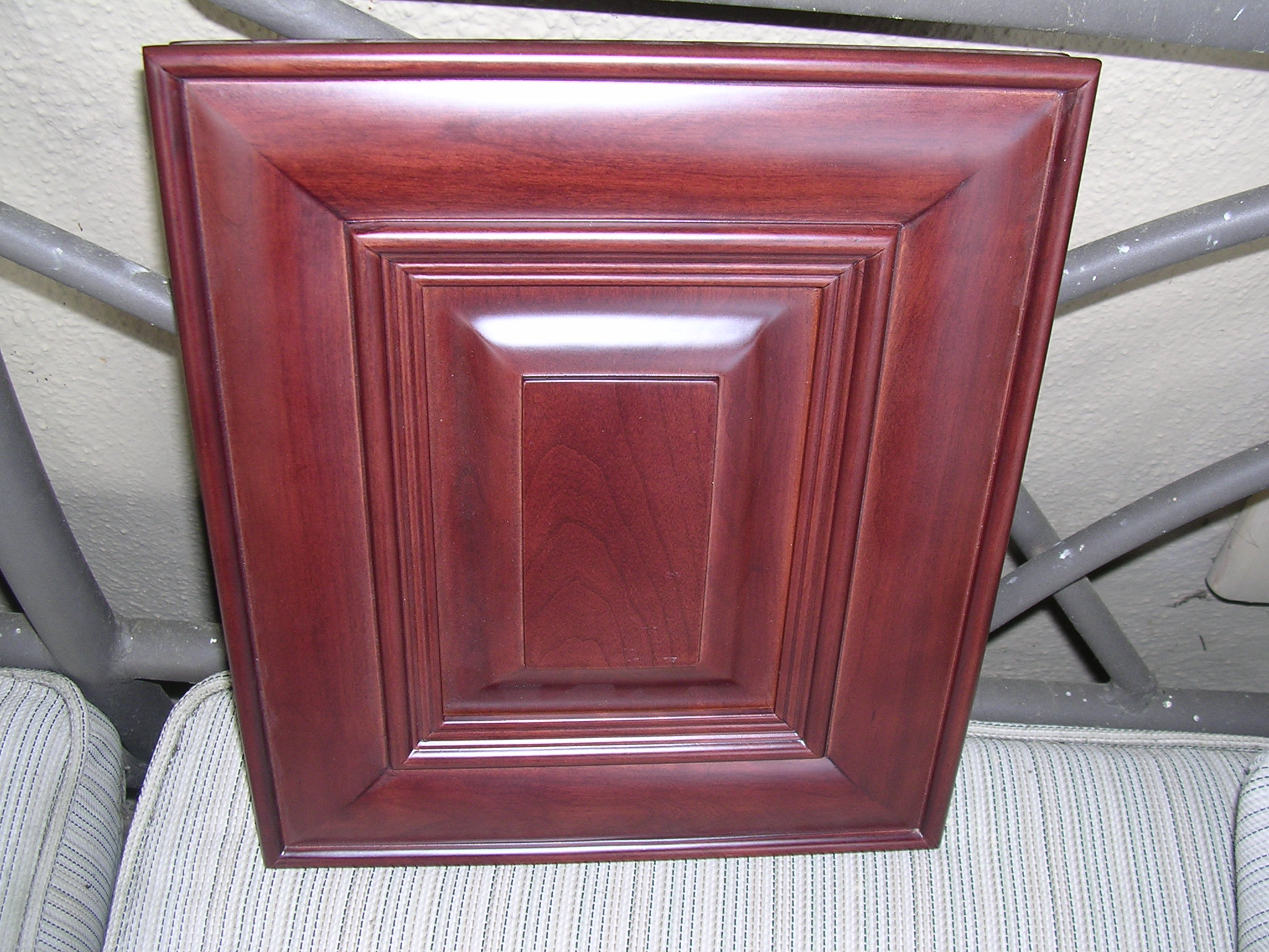 Red North American Cherry Kitchen Cabinets