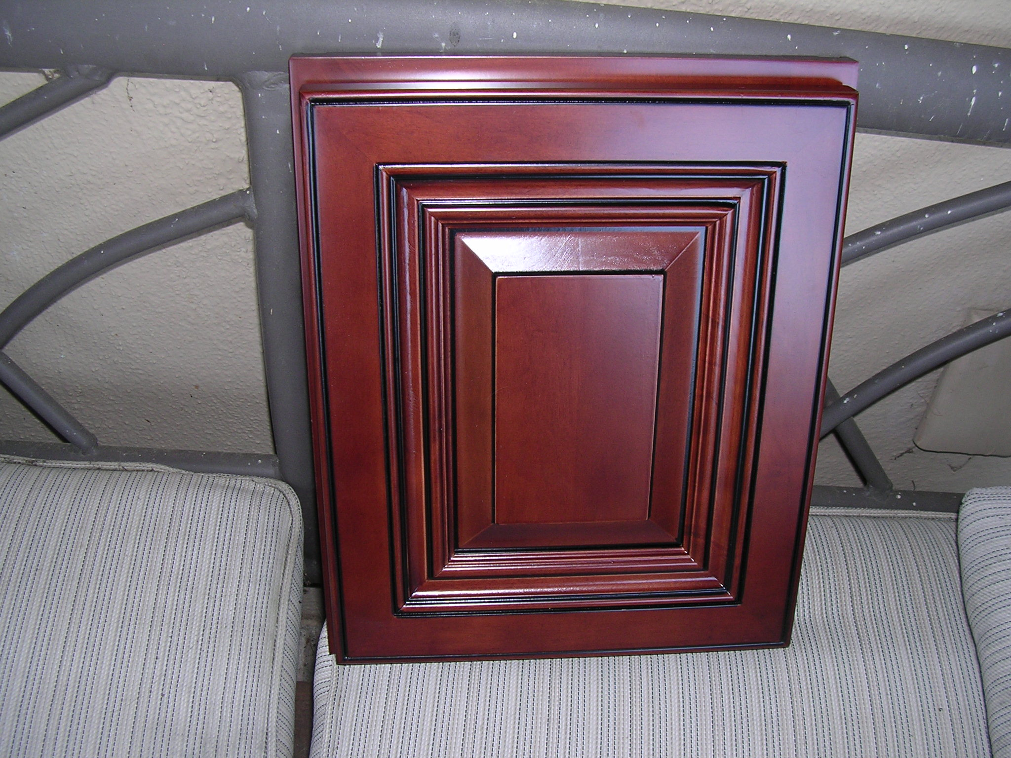 raised panel cabinets  2G Cherry Maple Glaze Kitchen Cabinets