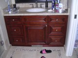 Cherry Maple Glaze Kitchen Cabinets gallery image