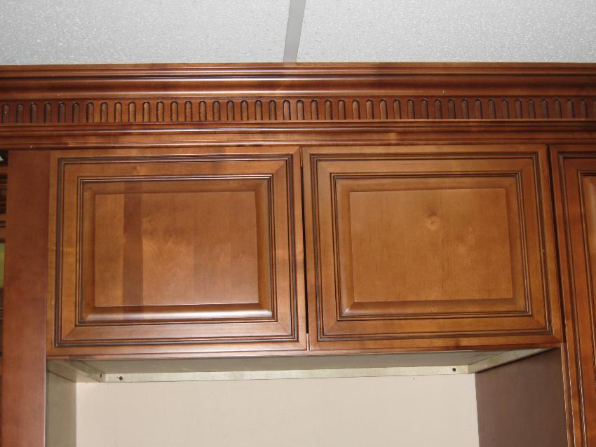 Mocca Glaze Maple Kitchen Cabinets