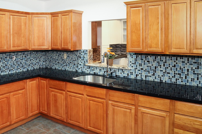 Birch Square Kitchen Cabinets