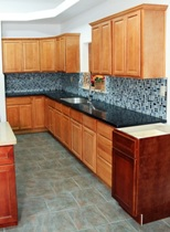 Birch Square Kitchen Cabinets gallery image