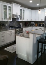 Soft White or Pure White Shaker Kitchen & Bath Cabinets gallery image