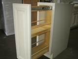 Antique White Alder Kitchen Cabinets gallery image