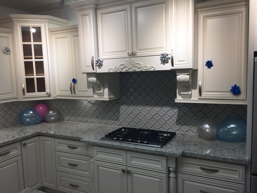 White Glazed Kitchen Cabinets Car Tuning