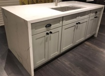 Snow White & French Grey Shaker Kitchen and Vanity Cabinets gallery image