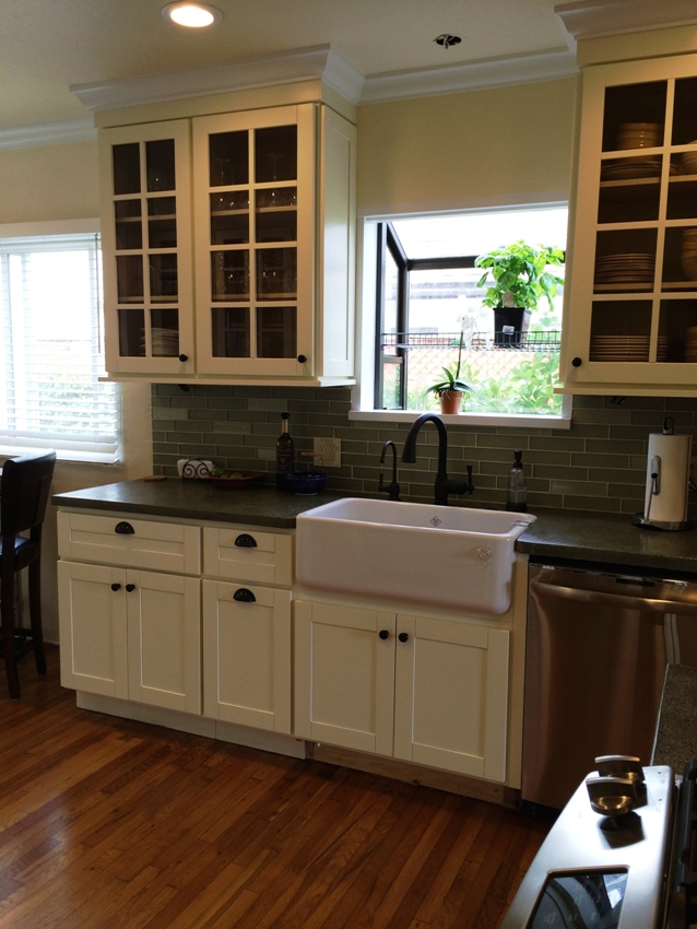 kitchens with cream colored cabinets colored beech shaker kitchen cabinets 8783