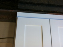 Pure White Shaker Panel Kitchen Cabinets gallery image
