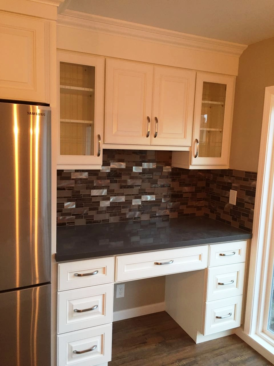 White maple cabinets - Off White Maple Raised Panel Kitchen Cabinets Gallery Image