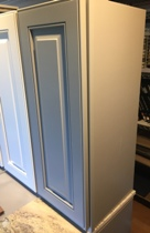 Light Grey Maple Raised Panel Kitchen Cabinets gallery image