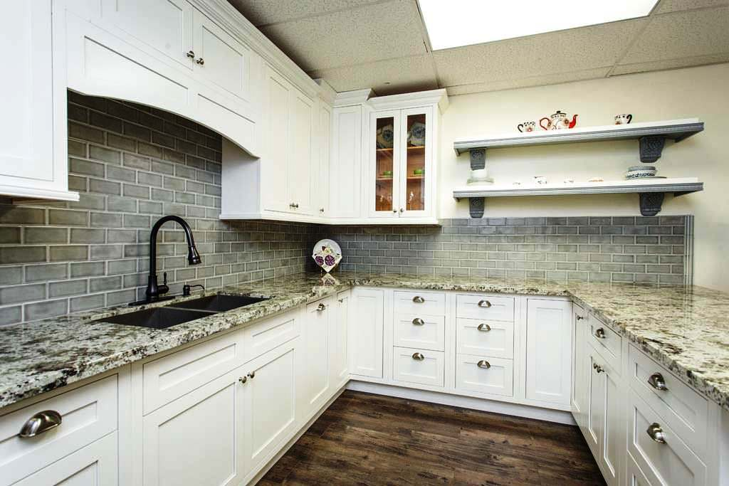 Inset White Shaker RTA Kitchen & Bath Cabinets