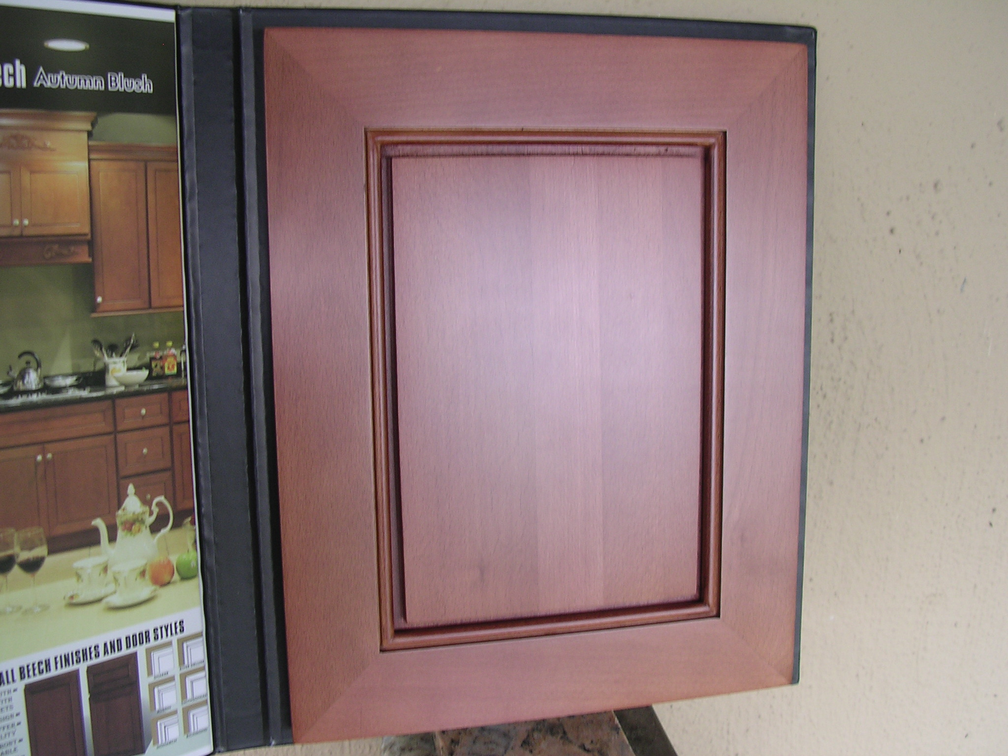 Beech Autumn-Blush Kitchen Cabinets (BAS)