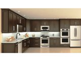 Chocolate Maple recessed Panel Kitchen Cabinets gallery image