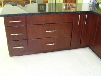 4-4 Cherry and Cherry Colored Contemporary Cabinets Catalog