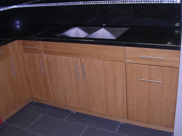 Bamboo Kitchen Cabinet Doors