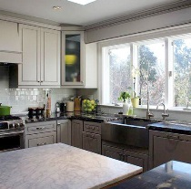 Greige Maple Kitchen Cabinets(K3) gallery image
