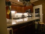 Natural Cherry Arched door Kitchen Cabinets Photo Album gallery image