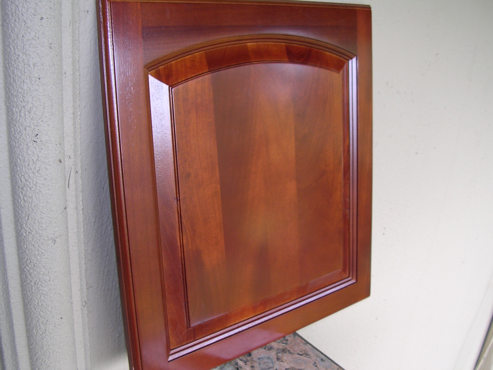 Traditional Cherry Arched Kitchen Cabinets Photo Album