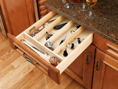 TRIMABLE UTENSIL STORAGE