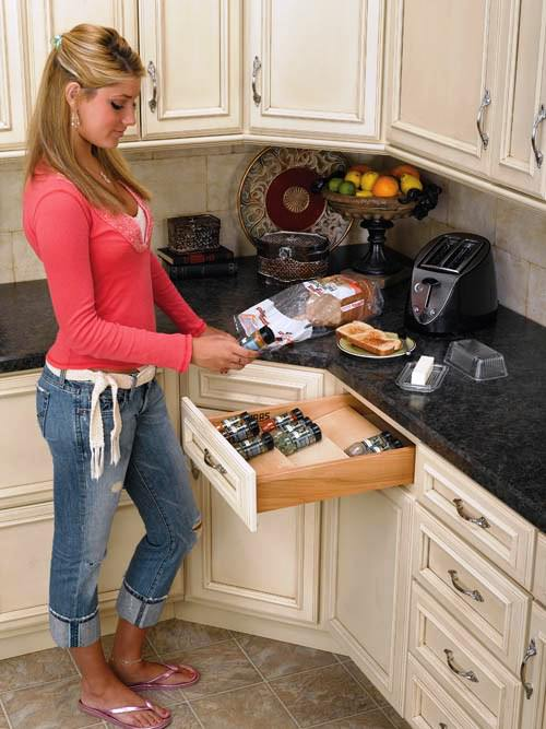 DRAWER SPICE RACK-18