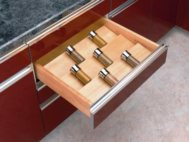 DRAWER SPICE RACK-24