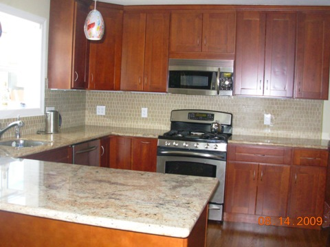 shaker cherry kitchen cabinets shaker kitchen cabinets assembled ready to install in days 25979