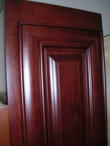 2E Glazed Cherry Raised Panel Cabinets,dovetail drawers,optional soft close