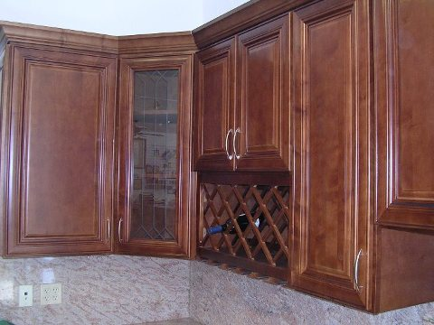 2-3 Brown & Medium Tone Raised Panel Cabinets Catalog