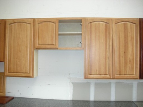 5B Natural China Oak Cathedral Arch Door Cabinets,dovetail drawers,optional SC