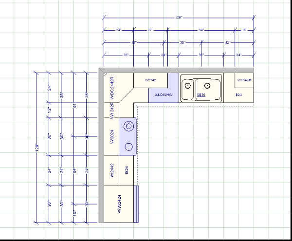 cabinetbrokernet kitchen design guidlines kitchen layout x cabinetbrokernet kitchen design guidlines - Kitchen Layout Design Ideas