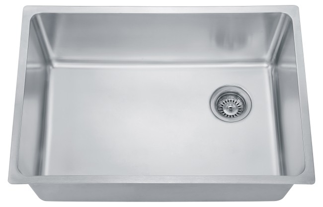 8-2 16 ga LARGE SINGLE BOWL SSTL SINKS