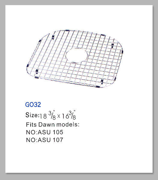GO32 STAINLESS BTM GRID FITS ASU105