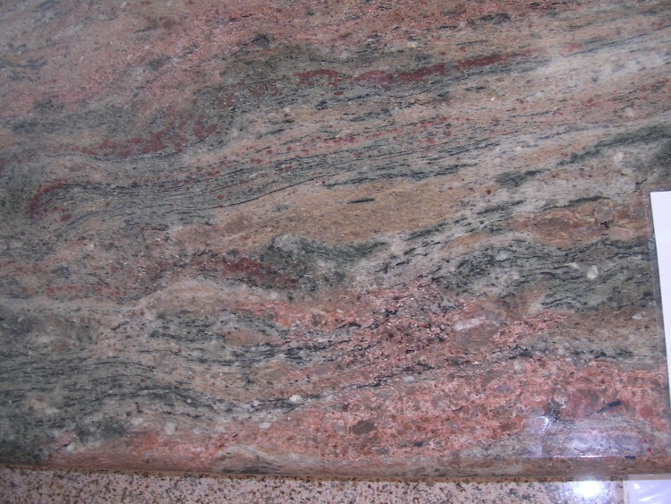 Lady Dream Granite : Pink granite prefab countertops
